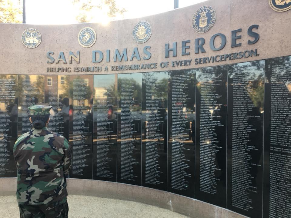 San Dimas Heroes Veteran's Day Memorial