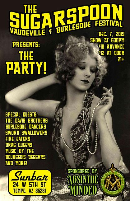 2019-12-7 Sugarspoon Vaudeville & Burles