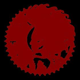Electric Mermaid International by Ordovich logo stamp emblem