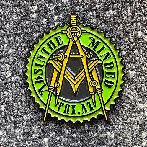 Soft Enamel Pin AM Emblem
