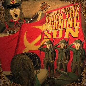 Ordovich, Album Cover, Under the Burning Sun, 2009