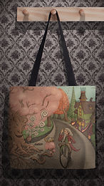 Tote Bag by Ordovich