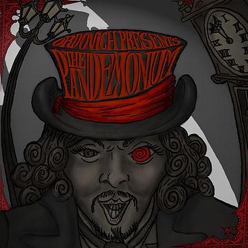 Ordovich, Album Cover, The Pandemonium, 2008