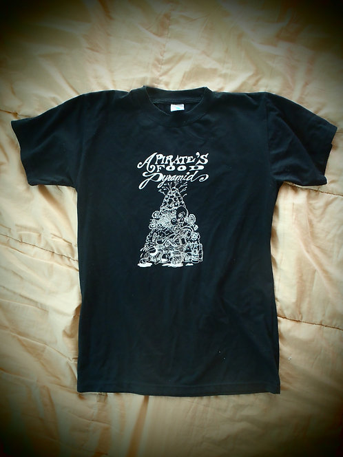 A Pirate's Food Pyramid T-Shirt
