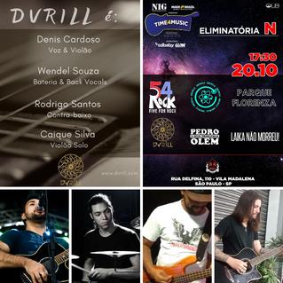 Músicos integrantes Dvrill