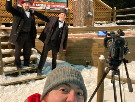 Virtual Groundhog Day 2021 Preshow Production