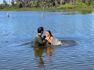 Lake baptism
