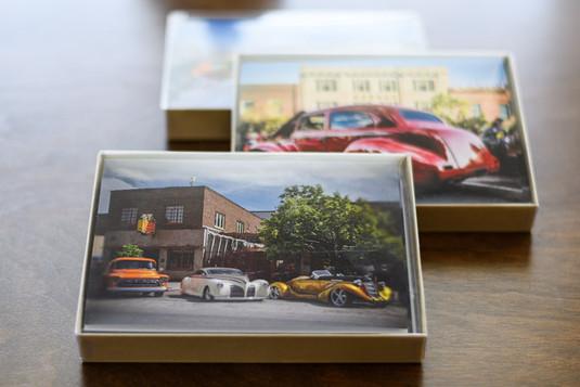Car Show Greeting Card Box