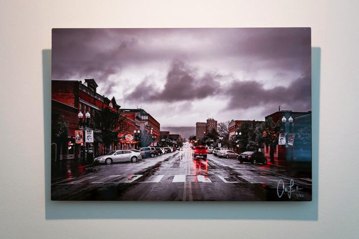 Metal Print Collection (City Rain)