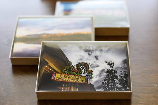 Ogden Greeting Card Box