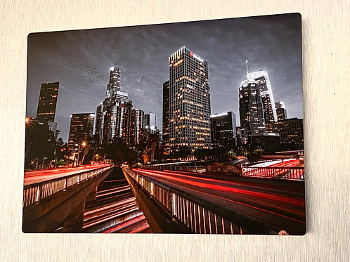 """Downtown Los Angeles 40"""" x60"""" limited edition of 50 """"Under the Bridge"""""""