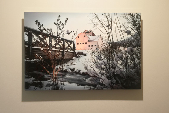 Metal Print Collection (The Barn, Park City)