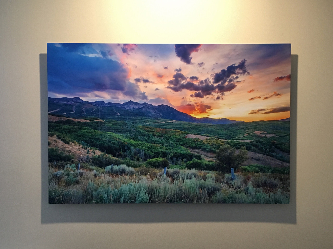 Metal Print Collection (Sunset Fire)