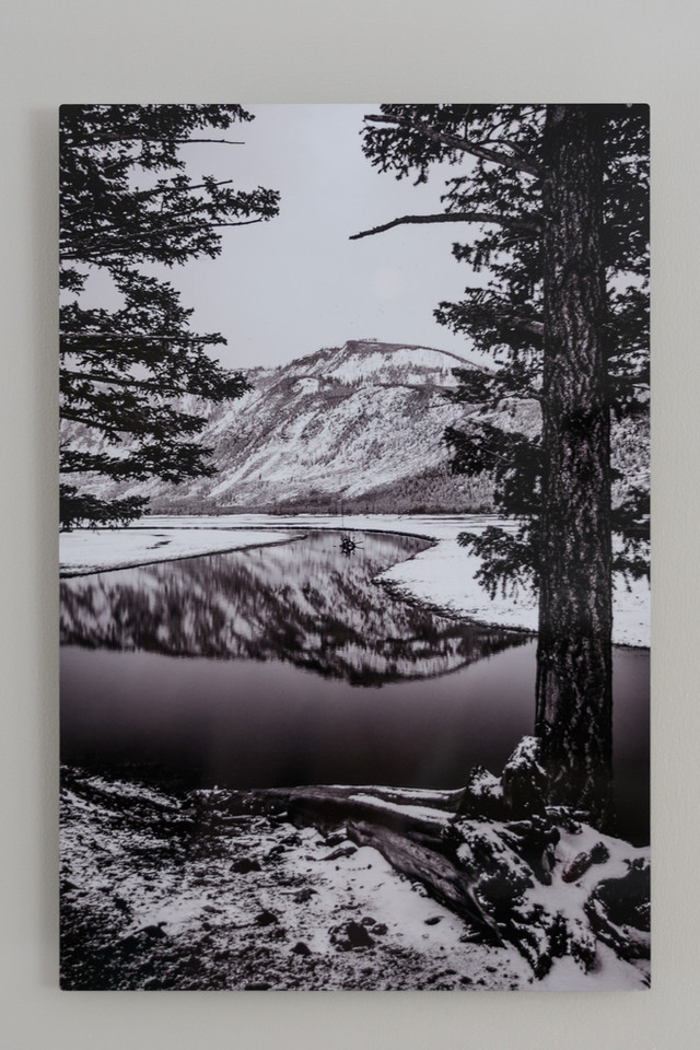Metal Print Collection (Yellowstone Reflections)