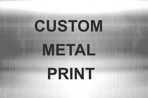 Step 2: Metal Prints Payment (w/ your submitted image)