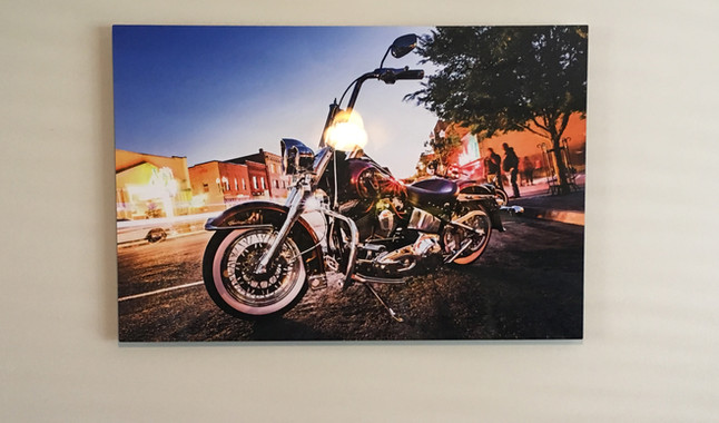 Metal Print Collection (Ray's Bike)