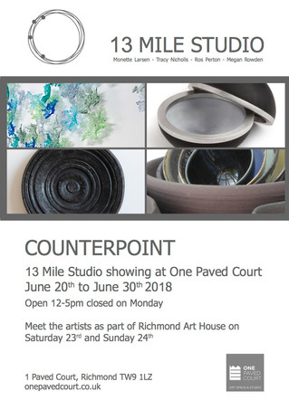 Counterpoint - 13 Mile Studio at One Paved Court Gallery