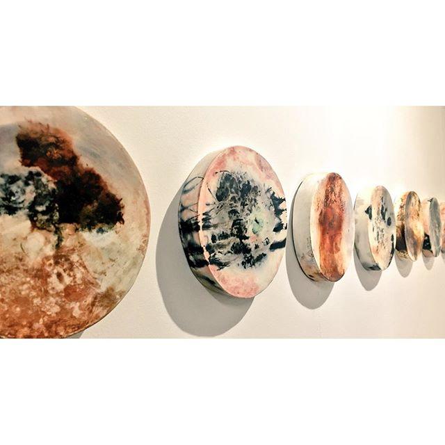 Nebulae series #ceramics #sculpture #wallart_edited