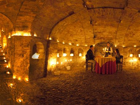10 posti romantici dove cenare in Abruzzo d'inverno