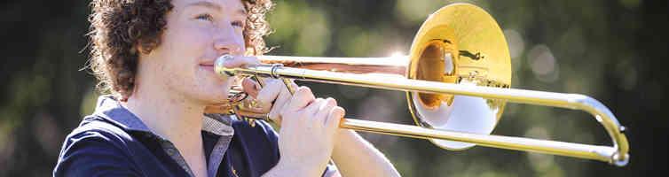 Trombone banner