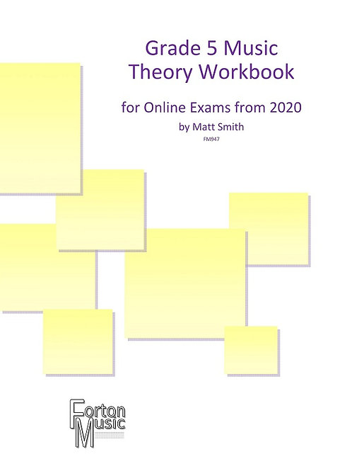 Grade 5 Music Theory Workbook by Matt Smith - PDF VERSION