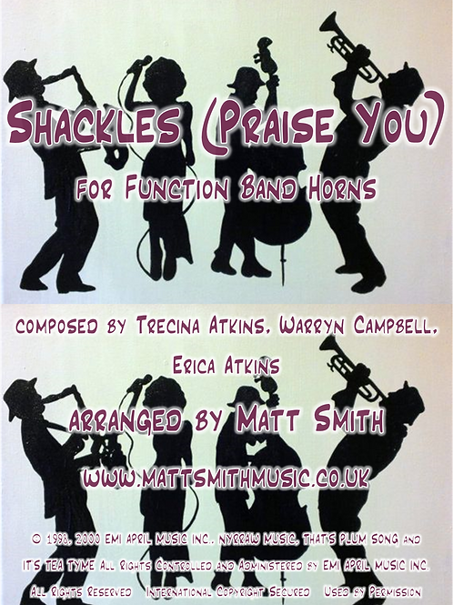 Shackles (Praise You) by Mary Mary - Function Band Horn Section