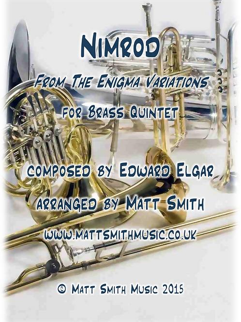 Nimrod by Edward Elgar - Brass Quintet