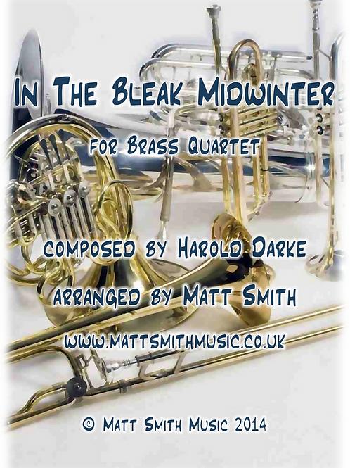 In The Bleak Midwinter by Harold Darke - Brass Quartet/Quintet