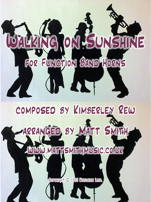 Walking on Sunshine by Katrina & The Waves - Function Band Horn Section