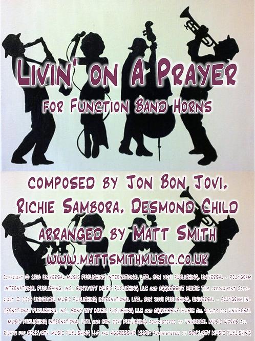 Livin' On A Prayer by Jon Bon Jovi - Function Band Horn Section