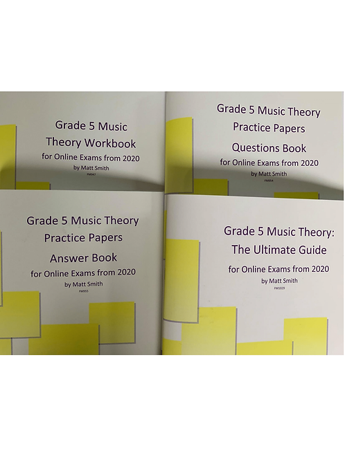 Grade 5 Music Theory Bundle: Ultimate Guide   Workbook   Papers-PDF VERSION