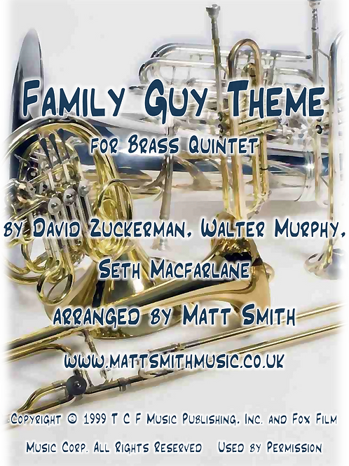 Family Guy Theme by Walter Murphy - Brass Quintet