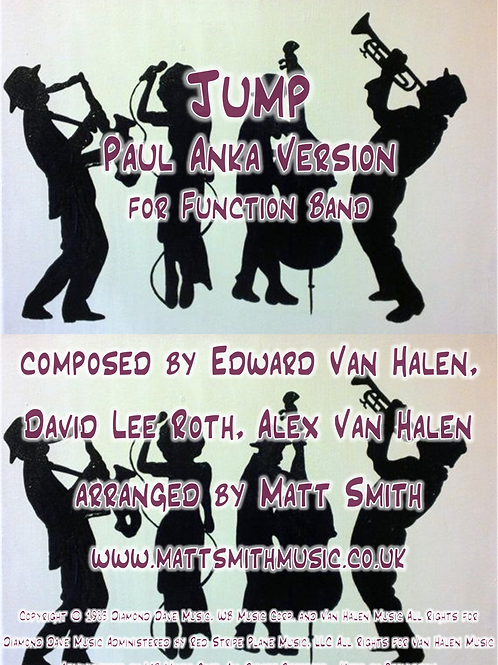Jump - Paul Anka Version - Function Band with Horn Section