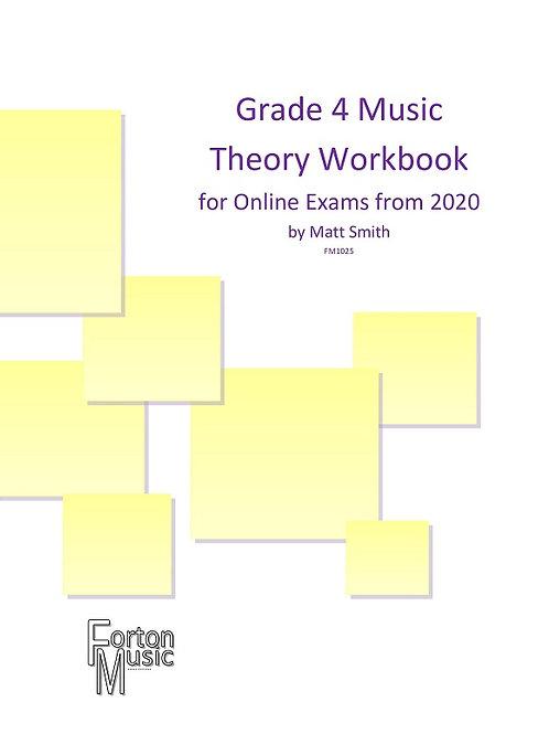 Grade 4 Music Theory Workbook by Matt Smith - PRINTED VERSION
