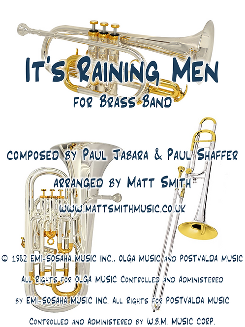 It's Raining Men by The Weather Girls - Brass Band