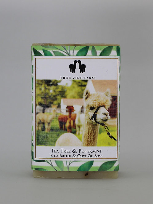 Tea Tree & Peppermint Soap Bar