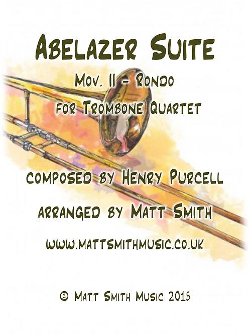 Abdelazer Suite by Henry Purcell - Trombone Quartet