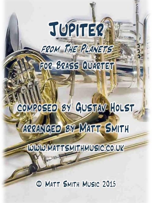 Jupiter by Gustav Holst - Brass Quartet/Quintet