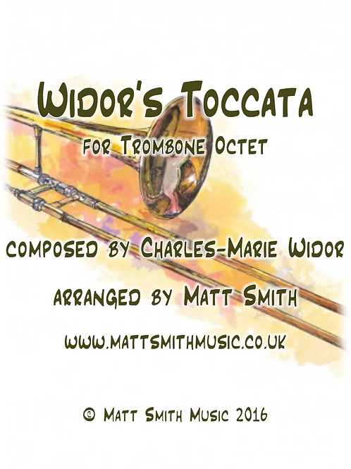 Widor's Toccata - Trombone Octet