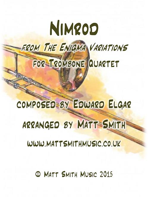 Nimrod by Edward Elgar - Trombone Quartet
