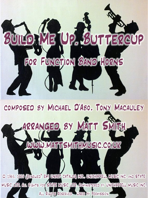 Build Me Up, Buttercup by The Foundations - Function Band Horn Section