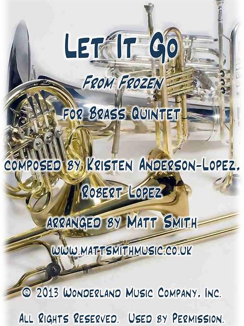 Let It Go from Frozen - Brass Quintet