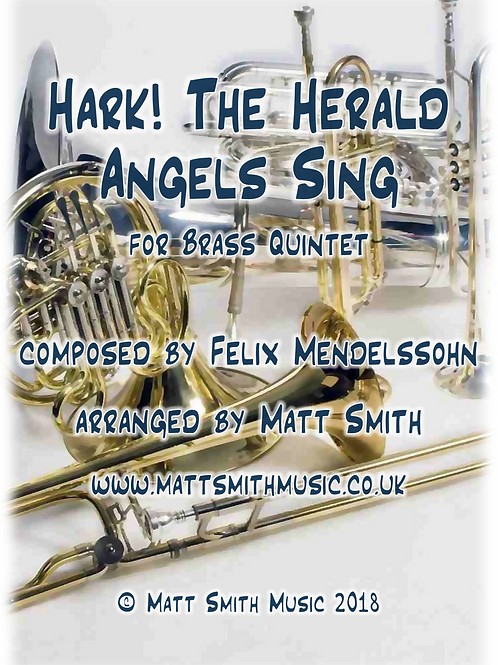 Hark! The Herald Angels Sing - Brass Quintet