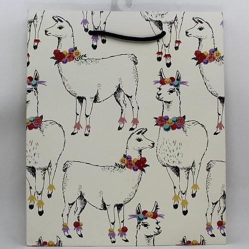 Alpaca Gift Bag
