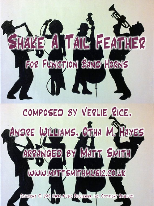 Shake A Tail Feather by Ray Charles - Function Band Horn Section