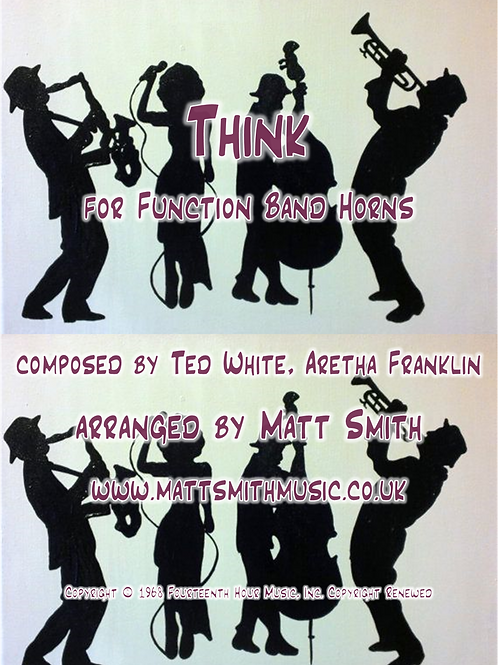 Think by Aretha Franklin - Function Band Horn Section