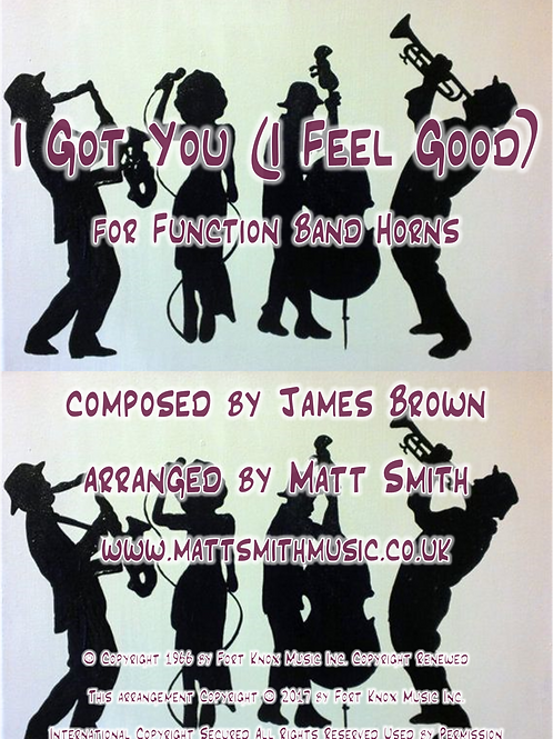 I Got You (I Feel Good) by James Brown - Function Band Horn Section