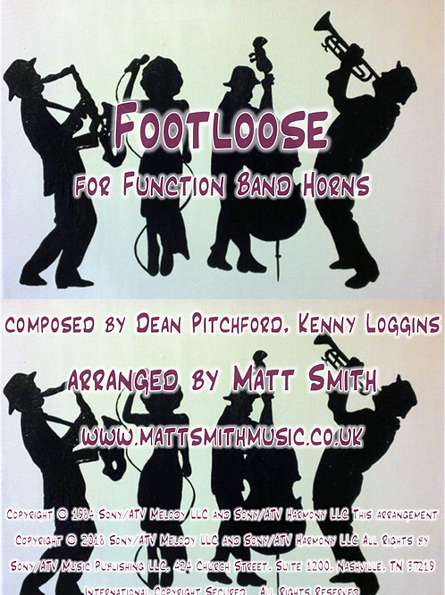 Footloose by Kenny Loggins - Function Band Horn Section