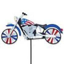 Patriotic Motorcycle Spinner