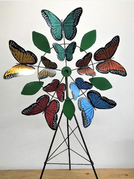 Monarch Butterfly Garden Spinner